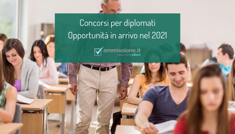 concorsi diplomati 2021