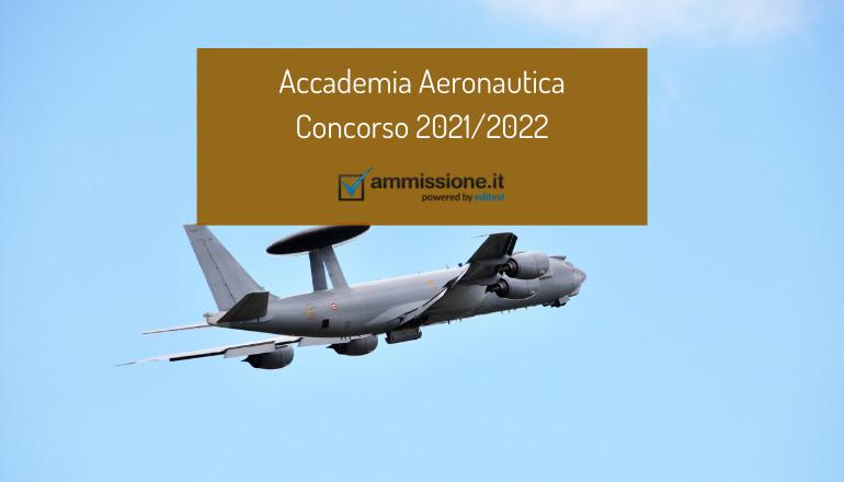 concorso accademia aeronautica 2021