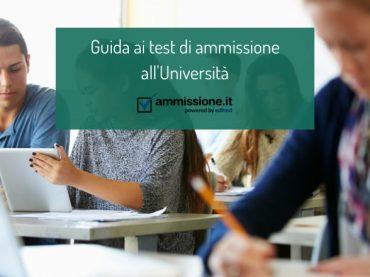 Guida ai test di ammissione all'Università