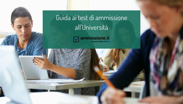 guida test ammissione università