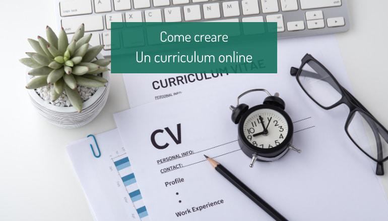 come creare curriculum online