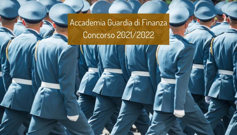 concorso accademia finanza 2021