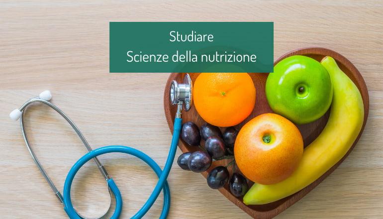 studiare scienze della nutrizione
