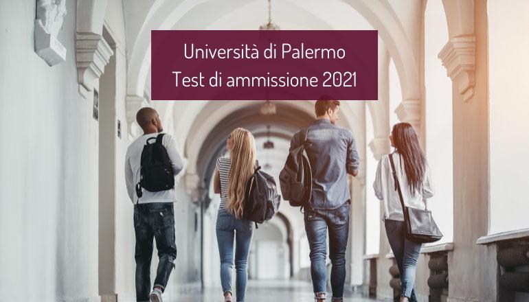test ammissione università palermo 2021