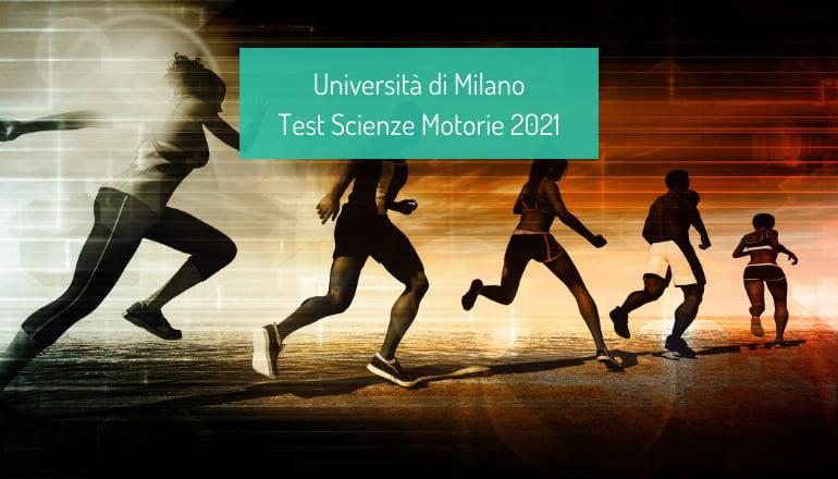 test scienze motorie università cattolica 2021