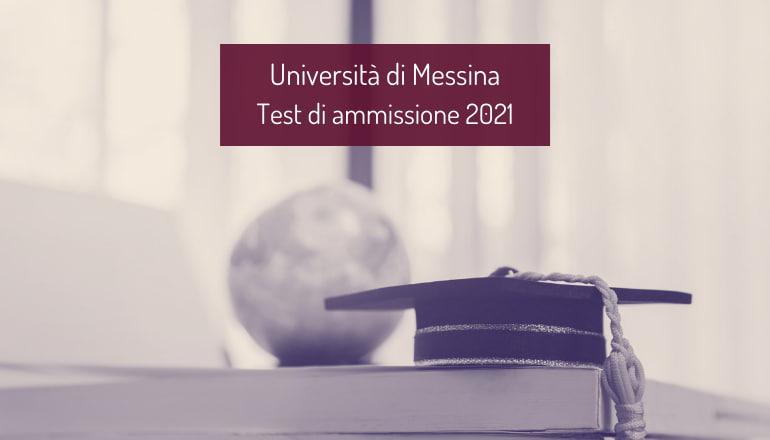 test ammissione università messina 2021