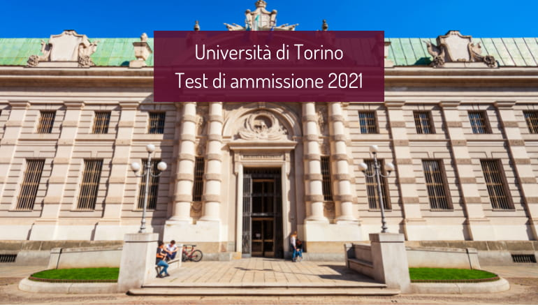 test ammissione università torino 2021