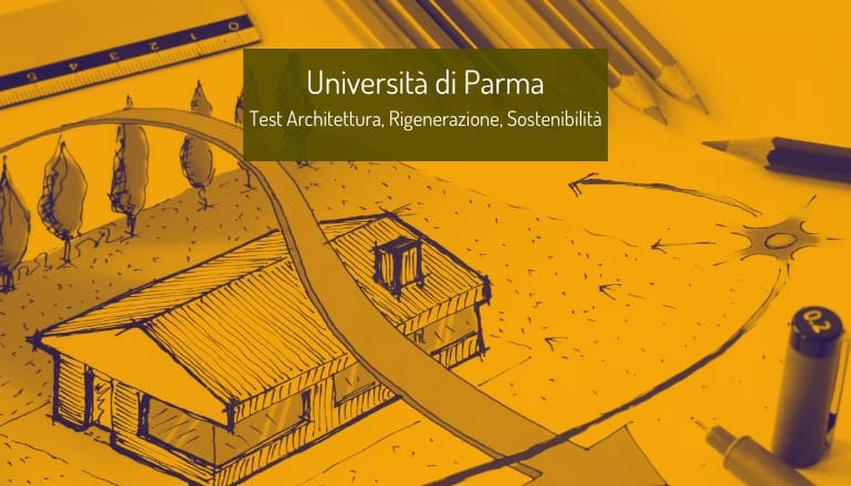 test architettura università parma