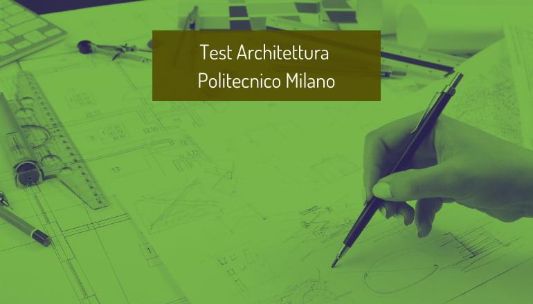 test architettura polimi 2021