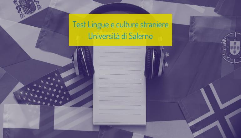 test lingue unisa 2021