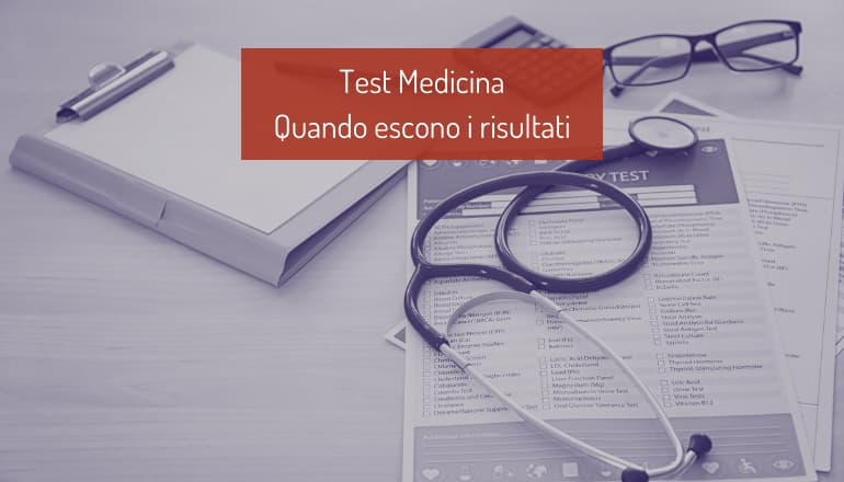 risultati test medicina
